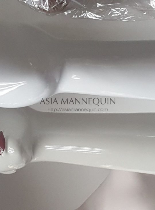 Mheadf003 Mannequin Head Female (Skin Colored, Movable Neck) | Asia Mannequin