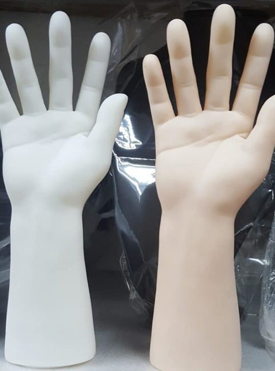 Handm-001 Hand Mannequin, Male, Plastic, Skin Beige Colored, Right Hand | Asia Mannequin