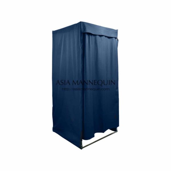 MFR002-BL Fitting Room (Open-Top, Velcro Curtain)
