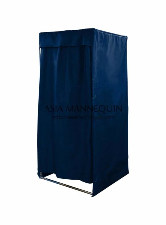 Mfr003-Bl Fitting Room (Covered-Top, Open Top Velcro Curtain) Rental $79