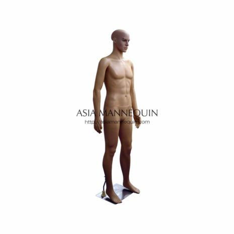 Mpsp003 Male Mannequins Dummy Anti-Piracy  Bare (Plastic, Skin Colored)