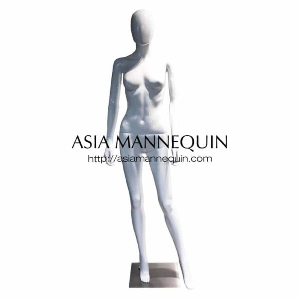MPWF001G Female Mannequin, Glossy White