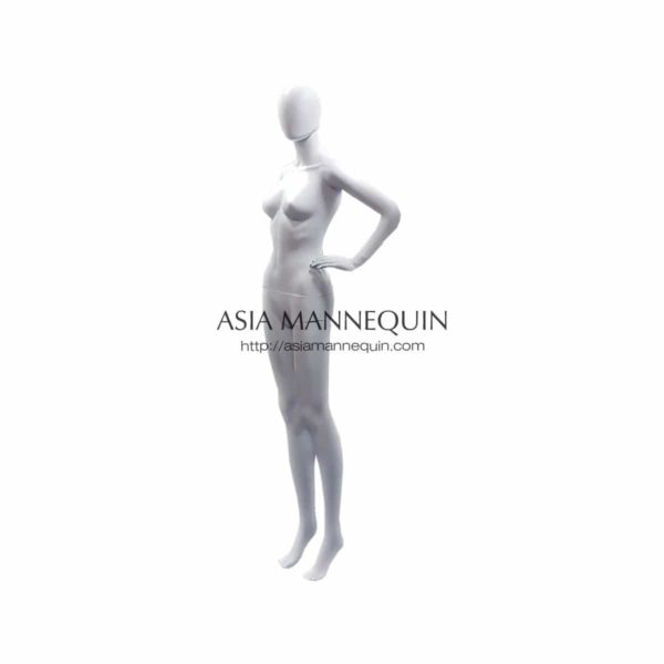 MPWF016G Female Mannequin, Glossy White Display 1 Unit