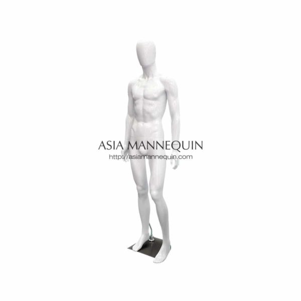 MW1 Male Mannequin, Glossy White